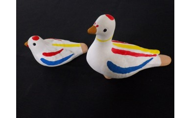 尾崎人形 鳩笛、水鳥セット