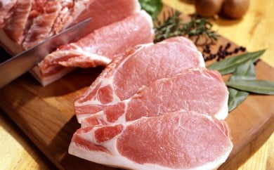 [№5787-0098]やまと豚焼肉用1kg