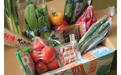 No.80 さんて四季オリジナル野菜・加工品セット(12ヶ月間定期便)