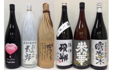 【AN70】蔵元特選!飲み比べセット(ふるさと納税限定セット)1800ml×6本【42,000pt】