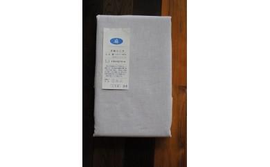 30S08 フランスリネン・フラットシーツ オリジナルサイズ(150㎝×270㎝)パープル