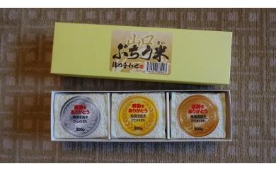 29E-009 山口ぶちう米セット【5,000pt】