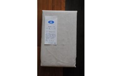 30S07 フランスリネン・フラットシーツ オリジナルサイズ(150㎝×270㎝)キナリ色