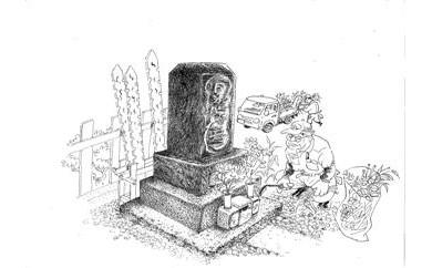 B-8 ふるさと墓地管理(年3回)