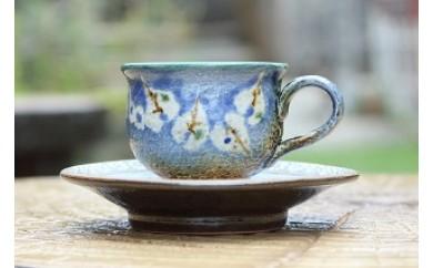ハートリーフのコーヒーカップ
