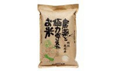 【B711に移行】B011 特別栽培米 農薬を極力おさえたお米 2kg【10p】