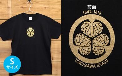 [№5717-0088]あま市ゆかりTシャツ(徳川家康)S