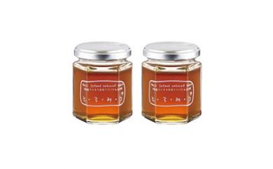 BW27 琥珀色の誘惑 日本蜜蜂のハチミツ「とろみつ」2本セット【14,000pt】