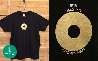 [№5717-0081]あま市ゆかりTシャツ(加藤清正)L