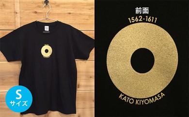 [№5717-0079]あま市ゆかりTシャツ(加藤清正)S