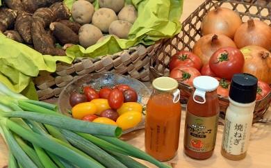 035 いわきの若手農業者が作った野菜詰合せ+6次化商品