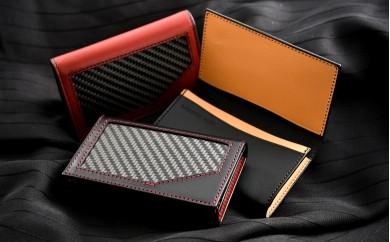 [P016] 炭素繊維織物 カードケース