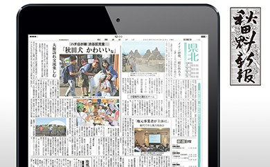 770P8401 秋田魁新報電子版(さきがけ電子版)定期購読1年【770P】