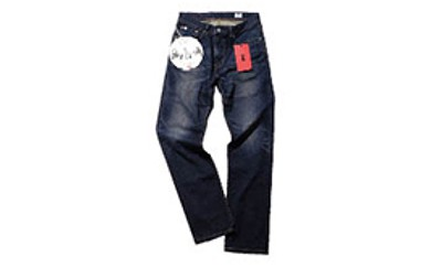 A073 (ED03-126-31)EDWIN メンズジーンズ「E-STANDARD レギュラーストレート(中濃色ブルー)」【25,000pt】