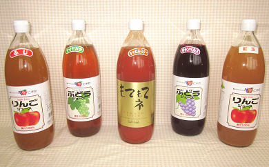 【JA新おたる】おすすめジュースセット(5種)