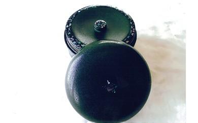 AP12 伝統の技で作り出される美しさが生活を彩ります!「秋田塗 乾漆塗茶筒(螺鈿入)」【200,000pt】