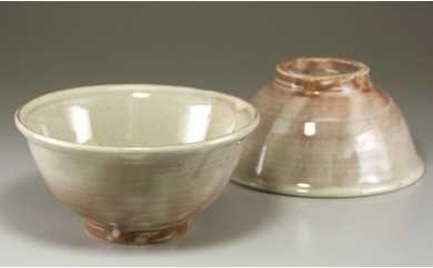 24 萩焼 ご飯茶碗 ペア