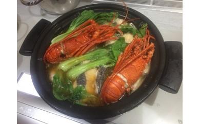 商品番号172 宮崎獲れ伊勢海老海鮮鍋セット