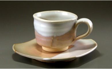 10 萩焼 コーヒーカップ(四角)
