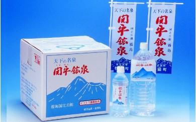C-021 【飲む温泉水】関平鉱泉水(20L×6箱、月1箱ずつ6ヶ月送付)