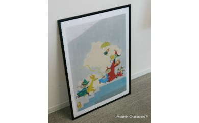 直輸入ポスター(フレーム付)【アウロラ子ども病院壁画】