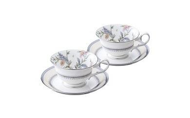 K-3 ジャルダンフルーリティー・コーヒー碗皿ペアセット