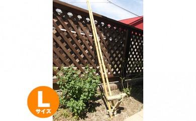 [№5838-0010]手づくり竹馬(天然素材) Lサイズ