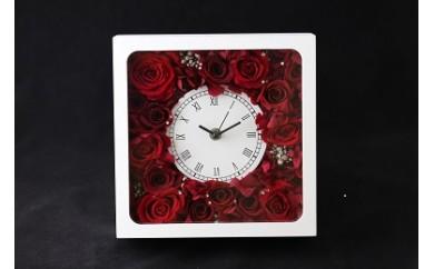 G17  ☆真紅のバラをしきつめた花時計☆