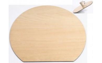M048 木製ランチョンマット 白木(ノンスリップ)【25p】