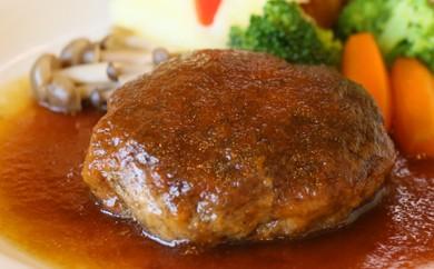 [№5800-0019]ブランド肉で作る手作りハンバーグとオニオンスープ