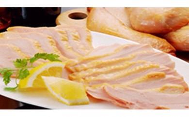 [№5898-0008]特産地鶏 青森シャモロック 半身燻製