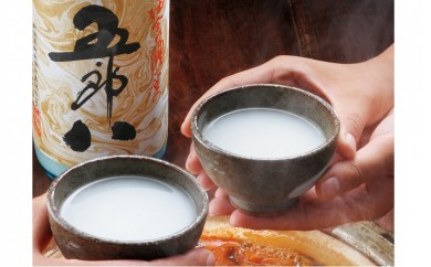 E74【秋冬限定】にごり酒 五郎八 1800ml 2本詰