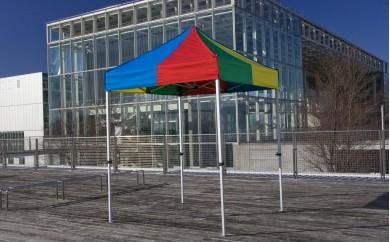 [R015] かんたんテント 1.8m×1.8m