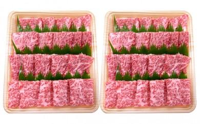 [№5787-0113]5等級 飛騨牛ロース又は肩ロース 焼肉用(約900g)