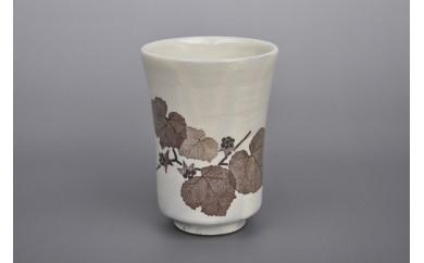 和紙染草花文フリーカップ(2個)