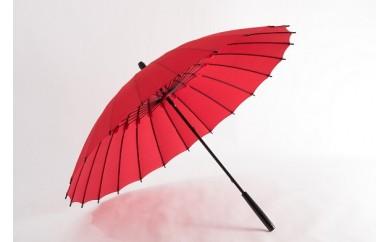 001 蛇の目洋傘 雨傘(緋赤)