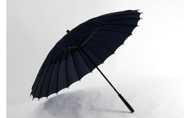 002 蛇の目洋傘 雨傘(墨黒)