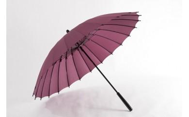 003 蛇の目洋傘 雨傘(古代紫)