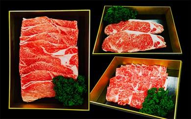 [№5682-0042]熊本県産赤牛大満足セット