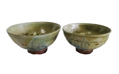B701 田中窯元 夫婦茶碗