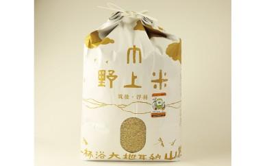 B458 野上耕作舎 野上米ヒノヒカリ 玄米30kg