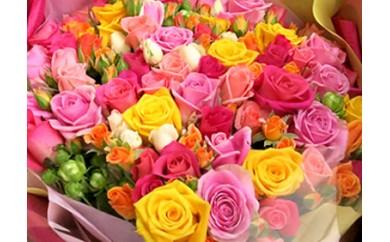 バラの花束 100本セット