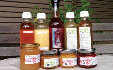 B652 酢造発酵場スーの果実酢と調味料セット