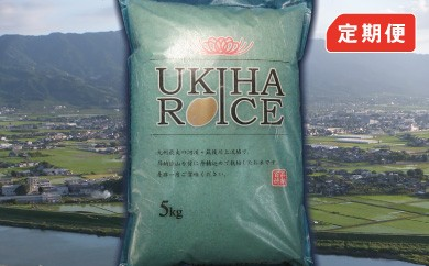 B404 みずほファーム UKIHA RICE 10kg×12ヶ月