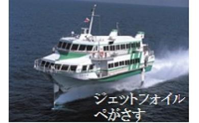 0256 五島旅 1泊2日プラン(往復ジェットフォイル) 【150pt】