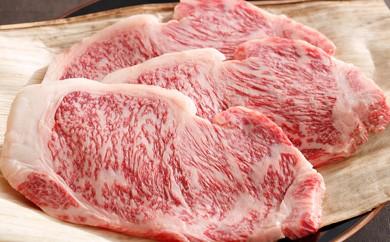 Y024 近江牛[特] ステーキ用 サーロイン 200g×3枚 【18,000pt】