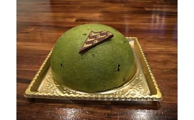 【ジェラート専門店から】ジェラートのケーキ(抹茶)