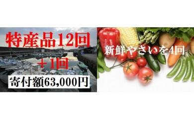 ve024 大人気のお楽しみコース&新鮮野菜4回発送