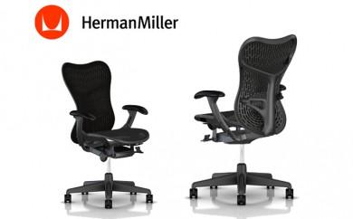 [№5809-0893]ハーマンミラー ミラ2チェア オフィスチェア 椅子 グラファイトベース/グラファイトフレーム