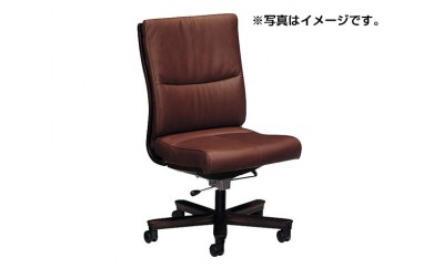No.079 [カリモク家具]デスクチェア(アームレス) A